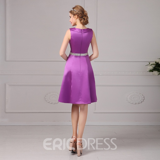 Ericdress Peter Pan Collar A-Line Short Prom Dress