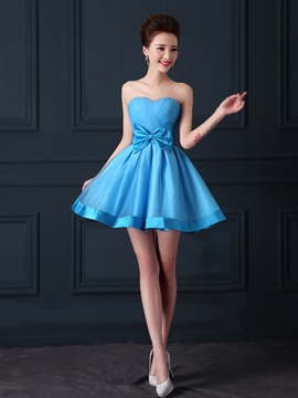 Ericdress Sweetheart Ruches A-Line Homecoming/Sweeheart Dress