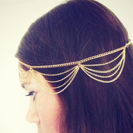 Ericdress Aestheticism Tassel Chain Multi-layer Headband