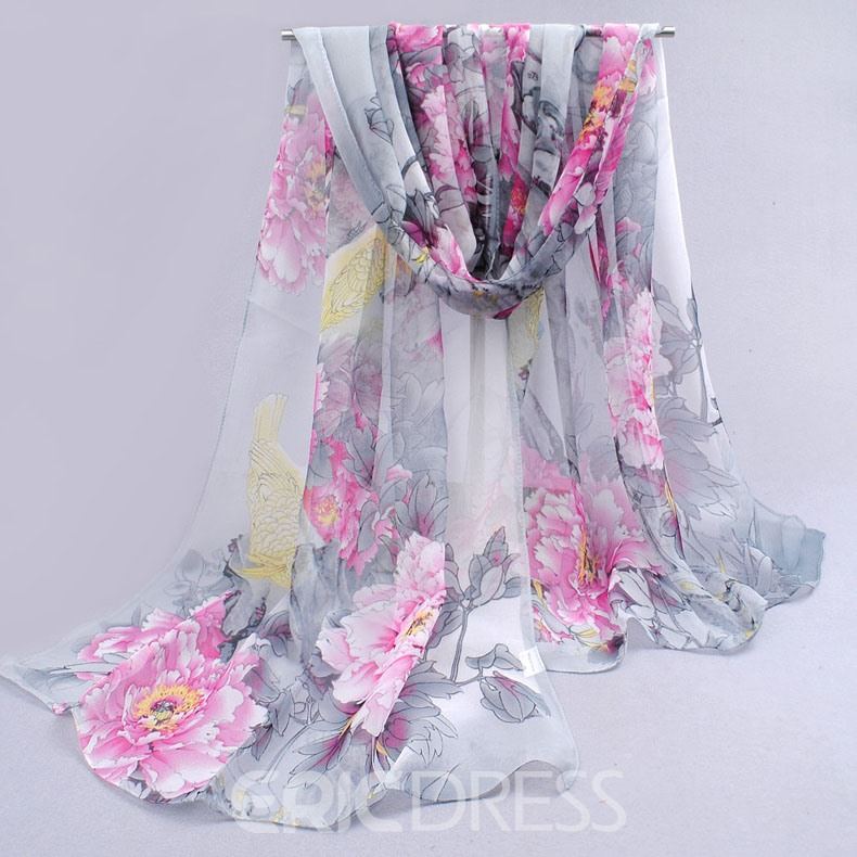 Ericdress Sun Block Light Long Chiffon Scarf