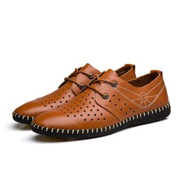 Ericdress Solid Color Men's Oxfords