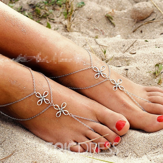 Vintage Chinese Knot Double-layer Anklet