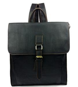 Ericdress Leather Plain Men's Backpacks
