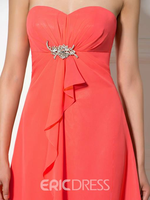 Ericdress Pretty Sweetheart Knee Length A Line Bridesmaid Dress