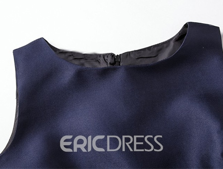 Ericdress Vintage Print Sleeveness Expansion Casual Dress