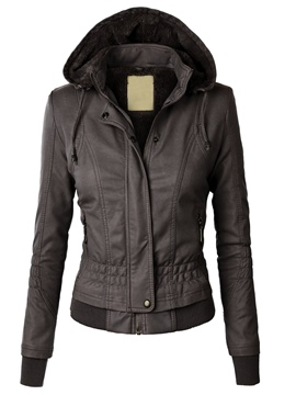 Manteau polaire de Ericdress Slim