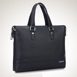 Ericdress PU England Plain Rectangle Men's Tote Bags