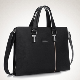 Ericdress Thread England PU Rectangle Men's Tote Bags
