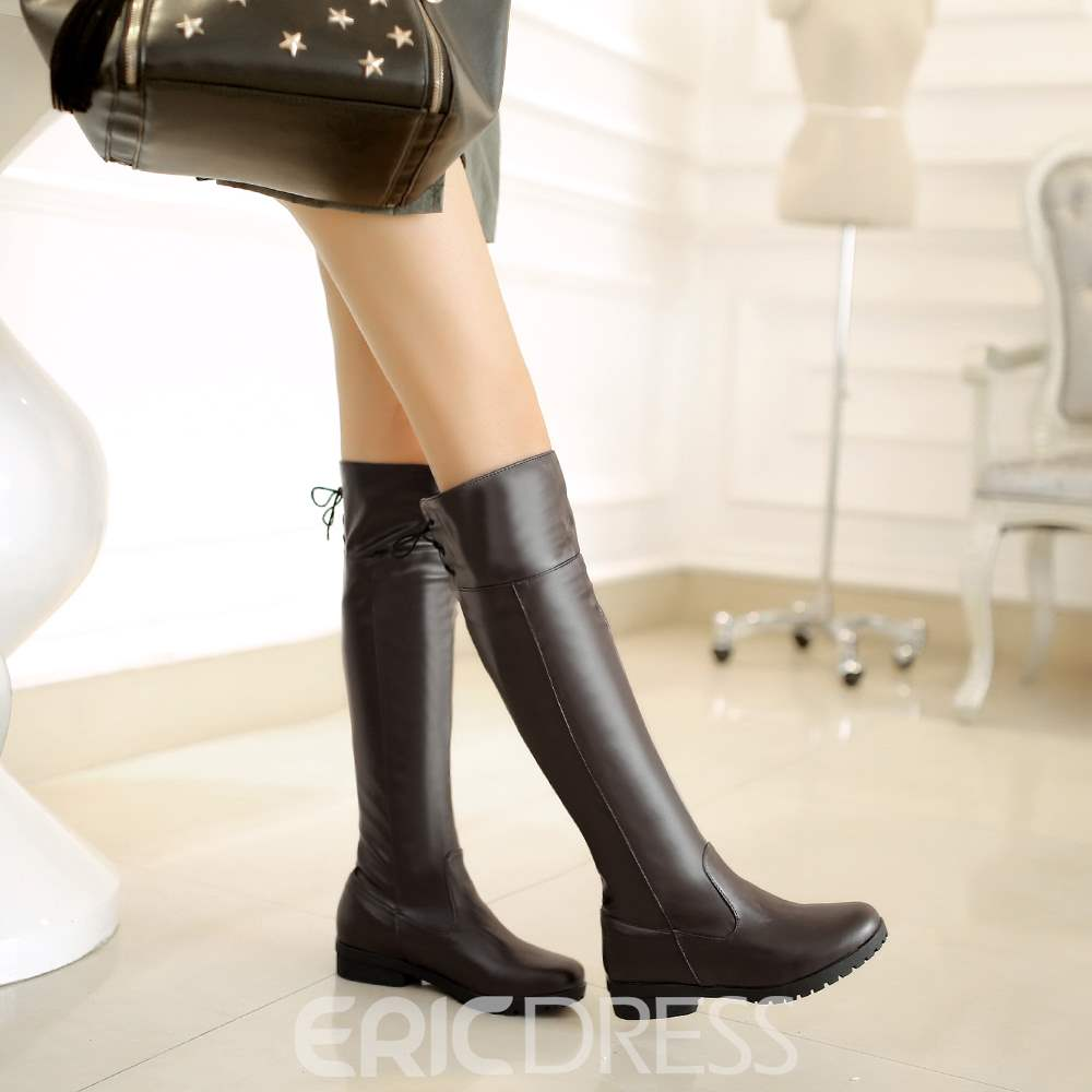 Ericdress Delicate Knee High Boots