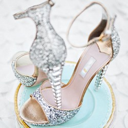 Ericdress Luxurious Rhinestone Ankle Strap Sandals фото