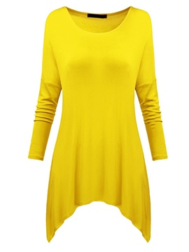 Ericdress Comfy Loose Long Sleeve T-shirt