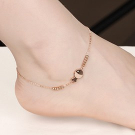 Lovely Matting Fish Decorated Anklet