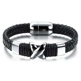 Stylish Woven Leather Bracelet