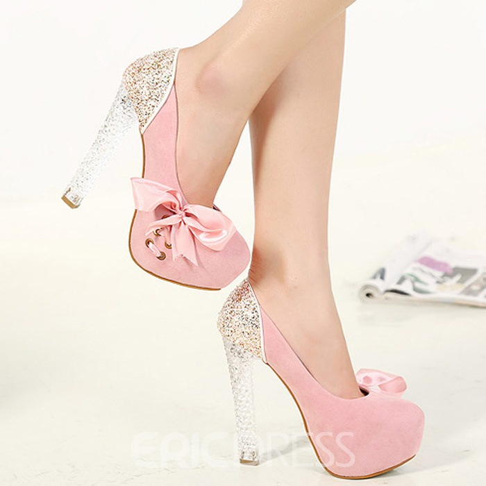 Ericdress Roman Fashion Bowknot Prom Shoes
