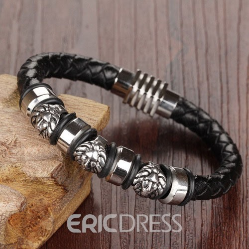 Ericdress Rock Pharaoh Mask Men's Bracelet