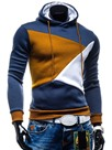 Ericdress Color Block Pullover Men's Hoodie