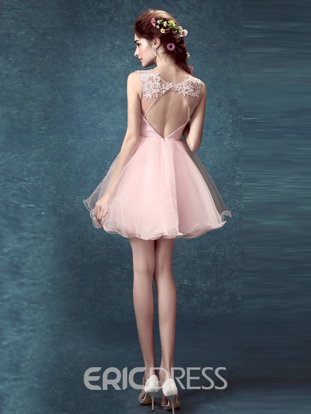 Ericdress Sweetheart A-Line Lace Homecoming Dress