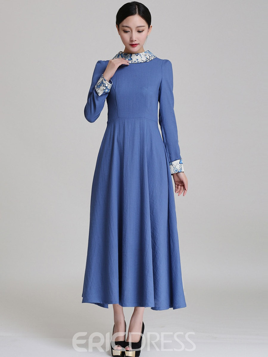 How to make a maxi dress with sleeves