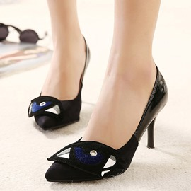 Ericdress Cartoon Eye Decoration Pumps