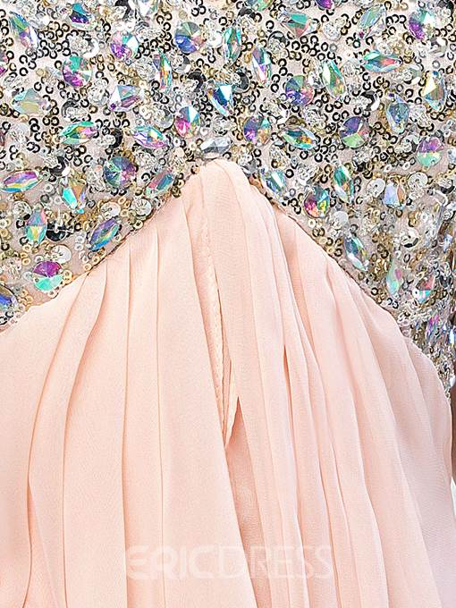 Ericdress Sweetheart Sequins Beaded Prom Dress