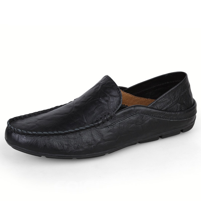 Ericdress Men's Solid Color Moccasin-Gommino