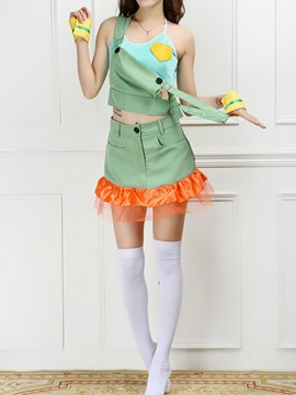 Ericdress Patchwork Suit Costume