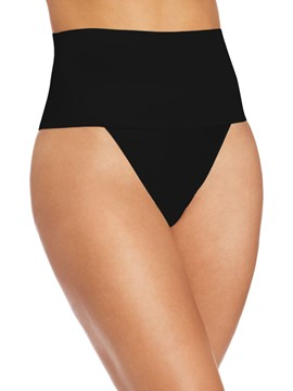 Ericdress Plain High Waist Thong