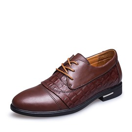 Ericdress Office Lace Up Elevator Heel Men's Oxfords