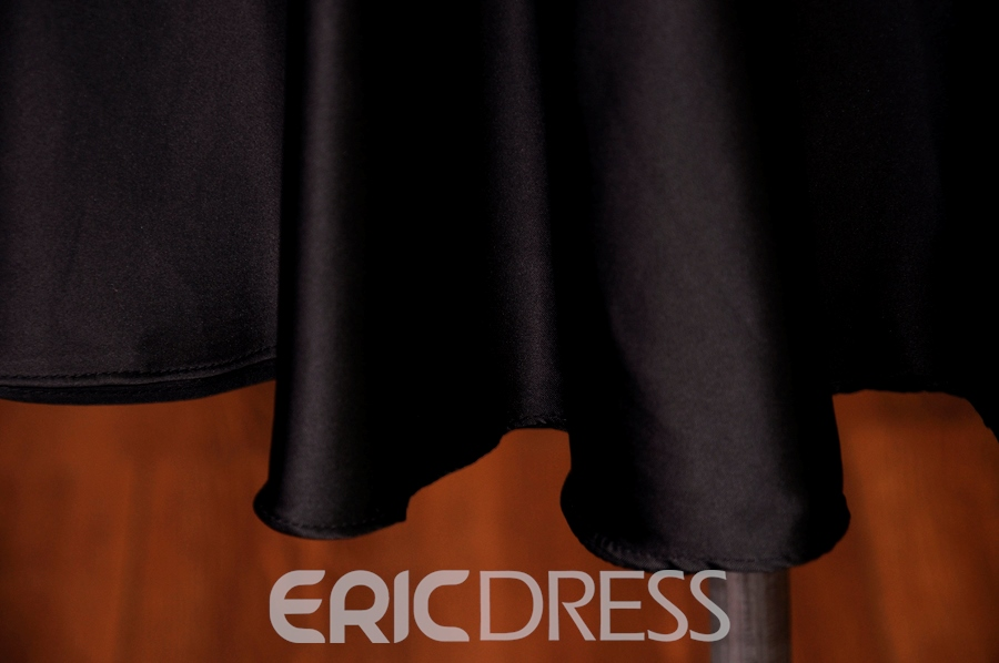 Ericdress High Neck Appliques Cocktail Dress
