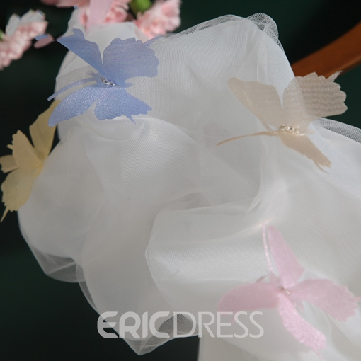 Ericdress Sweetheart Beading Flowers Asymmetric Homecoming Dress