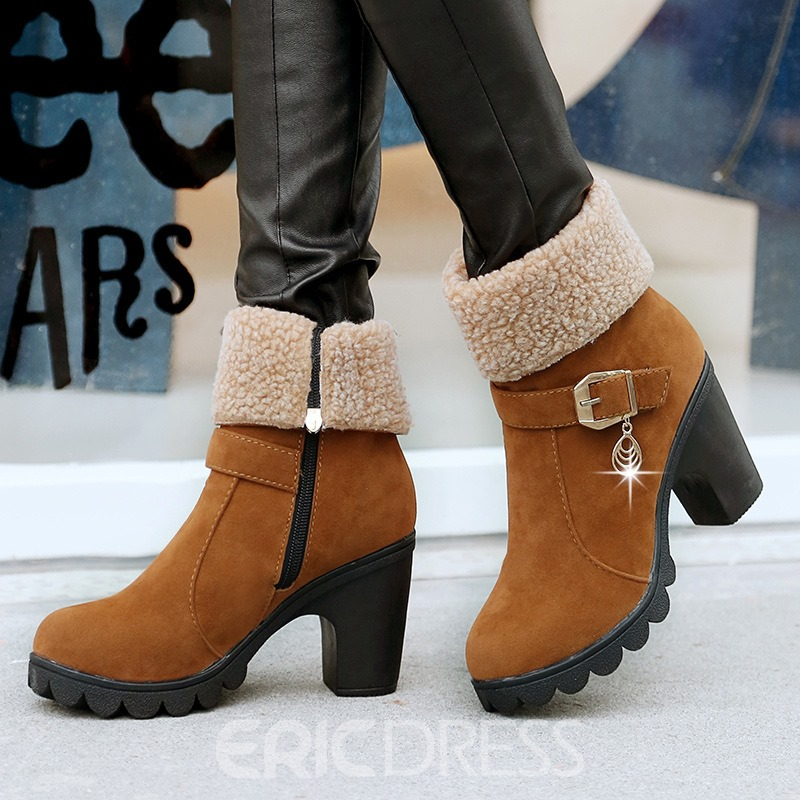 Ericdress Fashion Martin High-heel Boots
