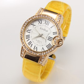 Ericdress Classic Roman Numbers Decorated Watch