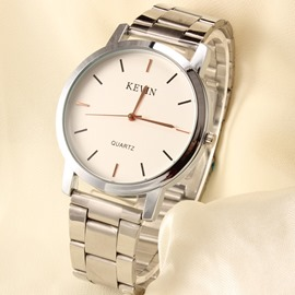 Ericdress Simple Dial Watch de Men