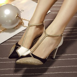 Ericdress European T-Strap OL Stiletto Sandals