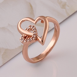 Classic Heart Shaped Delicate Ring
