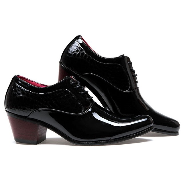 Ericdress Patent Leather Men's Oxfords with Rivets