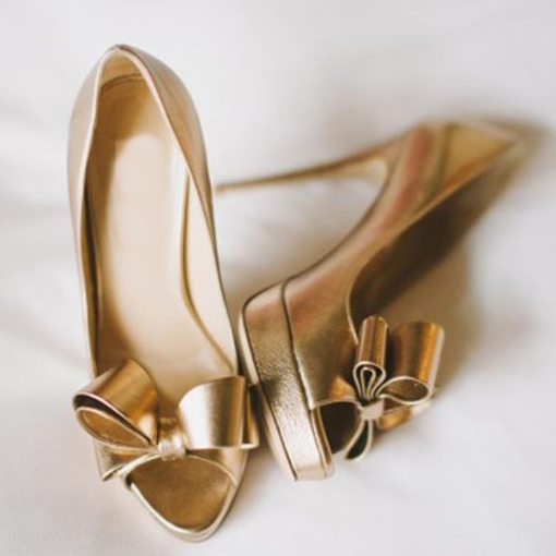 Ericdress Dreaming Bowtie Peep Toe Stiletto Prom Shoes