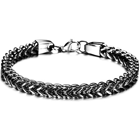 Personalized Titanium Steel Men's Bracelet