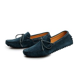 Ericdress Suede Solid Color Moccasin-Gommino