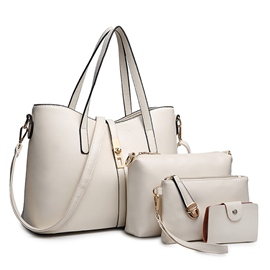 Ericdress abundante Color sólido Handbags(4 Bags)
