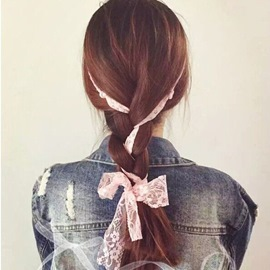 Romantic Lace Bowknot Decorated Hair Accessory