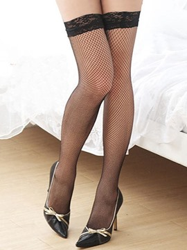 Ericdress Fish Net Thigh Length Sexy Stocking