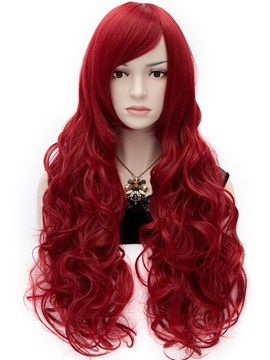 Ericdress Gorgeous Anastasia Long Wavy Red Hair Wig 32 Inches