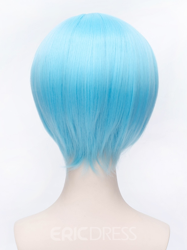 Ericdress Coolstyle Cosplay Short Blue 12 Inches Wig