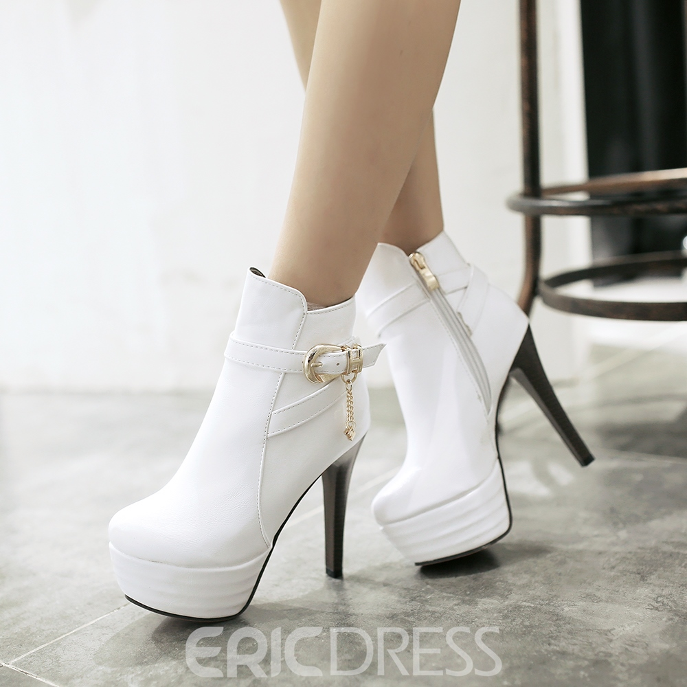 Ericdress Amazing High-heel Boots