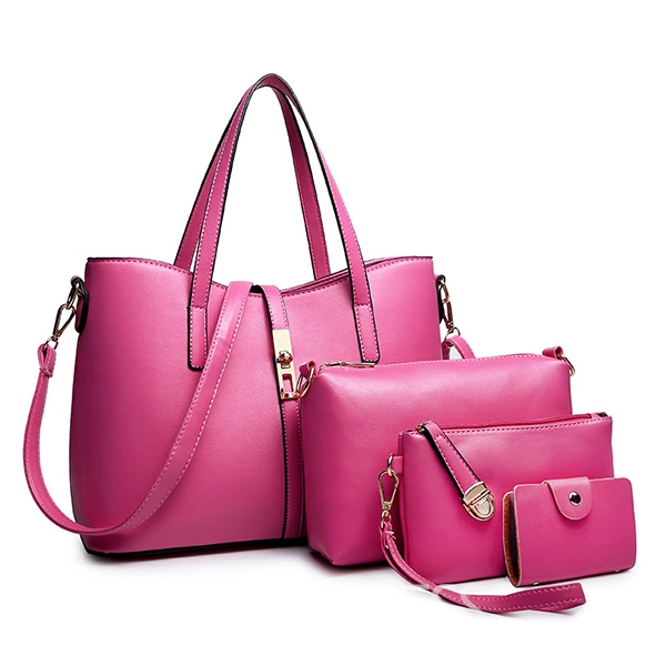 Ericdress Generous Solid Color Handbags(4 Bags)