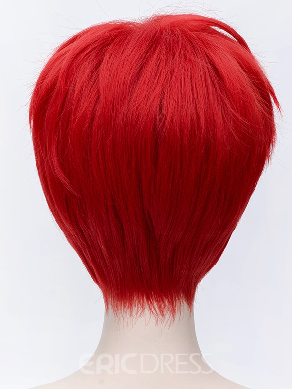 Ericdress Mikoshiba Mikot Hairstyle Short Red 10 Inches for Cosplay