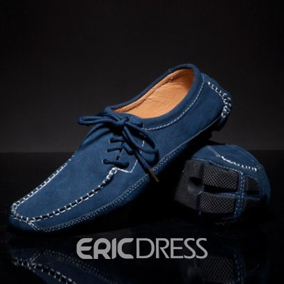 Ericdress Suede Bowtie Men's Moccasin-Gommino