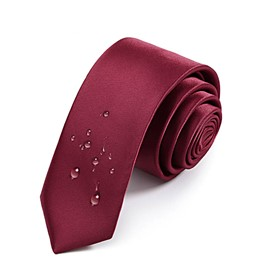 Ericdress Soild Color Waterdrop Men's Tie