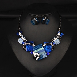 Ericdress Temperament Zirkon-Schmuck-Set